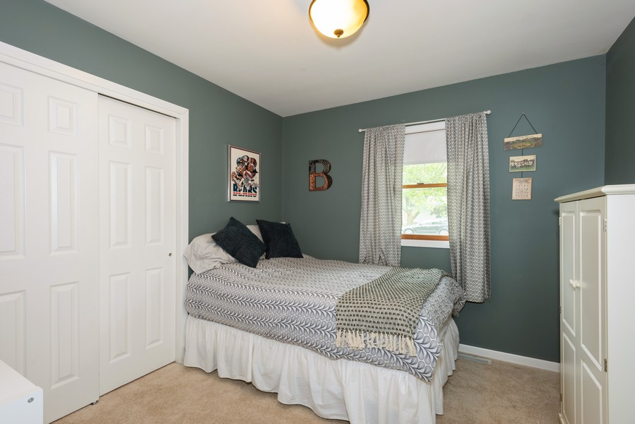 Real Estate Photography - 912 Dawn Ave, Glen Ellyn, IL, 60137 - 2nd Bedroom