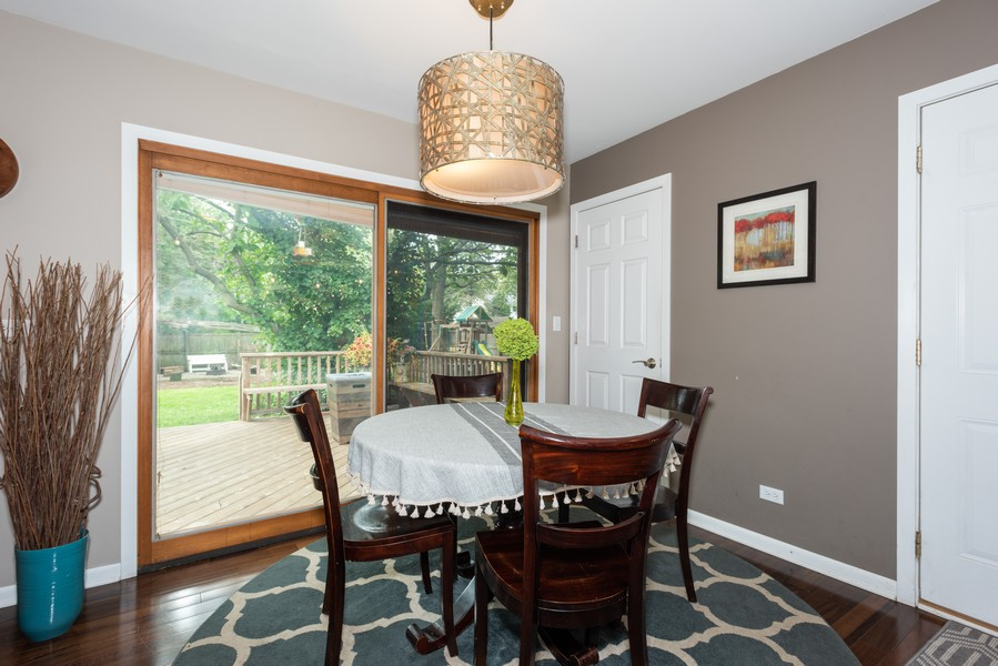 Real Estate Photography - 912 Dawn Ave, Glen Ellyn, IL, 60137 - Dining Room