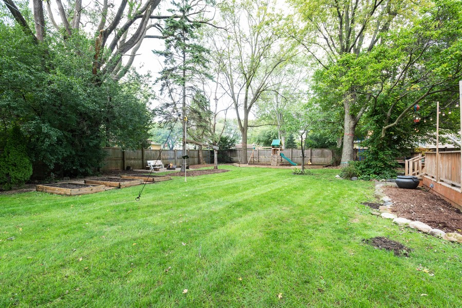 Real Estate Photography - 912 Dawn Ave, Glen Ellyn, IL, 60137 - Back Yard