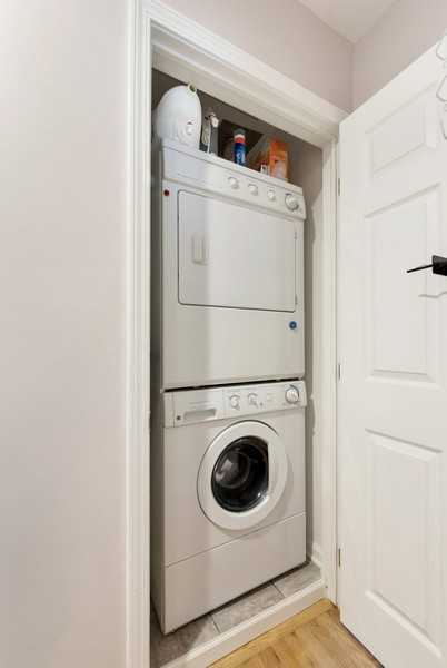 Real Estate Photography - 1435 Pebblecreek Dr, 13-6, Glenview, IL, 60025 - Laundry Room