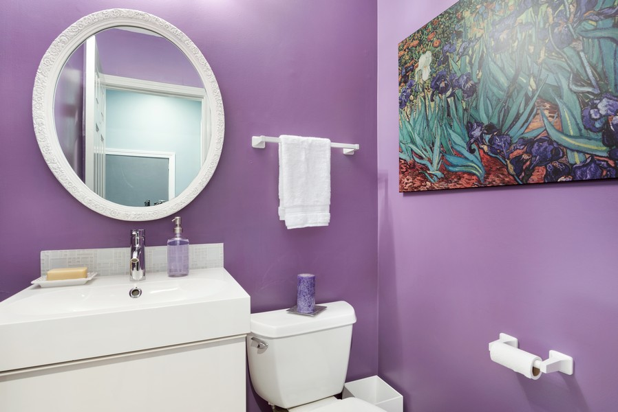 Real Estate Photography - 1435 Pebblecreek Dr, 13-6, Glenview, IL, 60025 - Half Bath