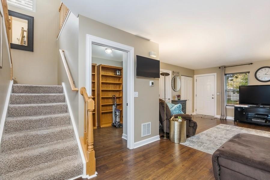 Real Estate Photography - 2506 Grayhawk Dr, Aurora, IL, 60503 - Living Room