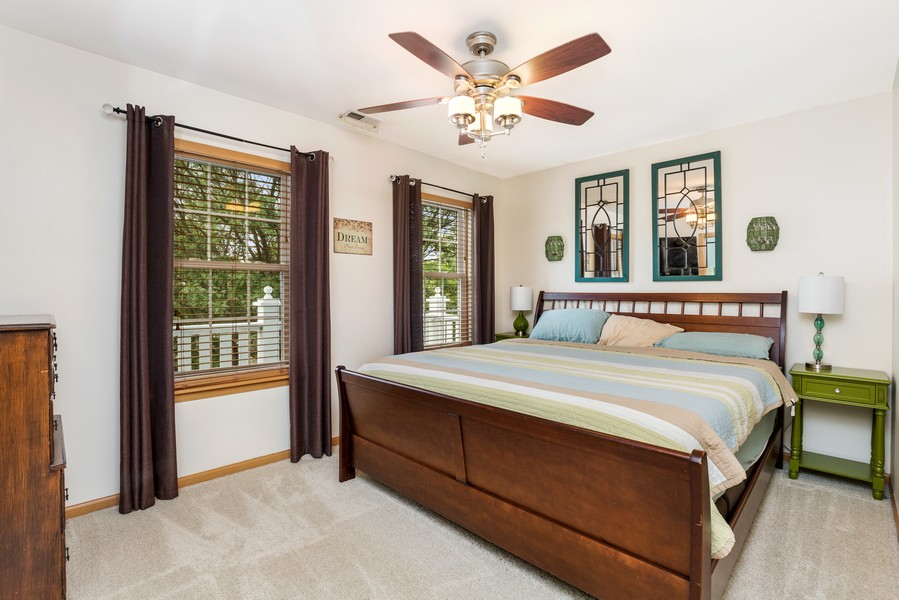 Real Estate Photography - 2506 Grayhawk Dr, Aurora, IL, 60503 - Master Bedroom