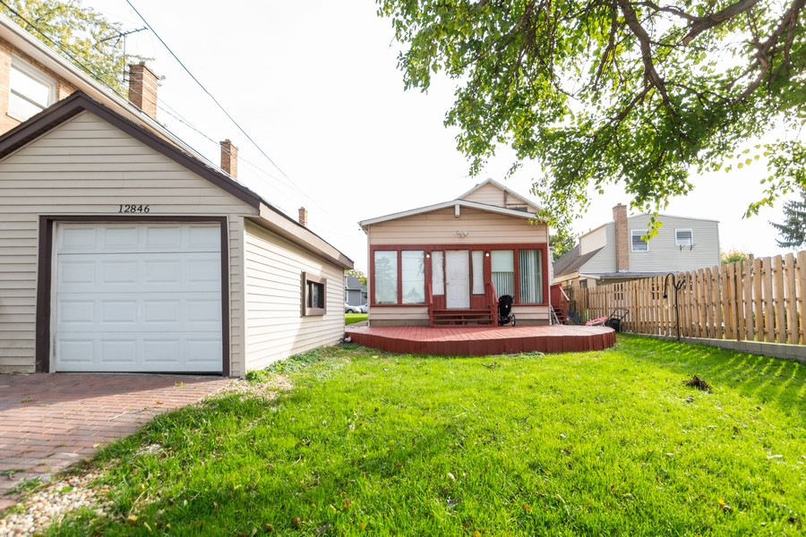 Real Estate Photography - 12846 Mozart St, Blue Island, IL, 60406 - Rear View