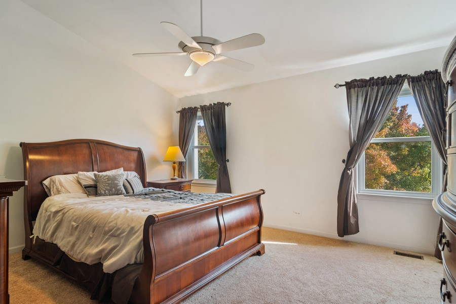 Real Estate Photography - 583 North Charter Hall Dr, Palatine, IL, 60067 - Master Bedroom