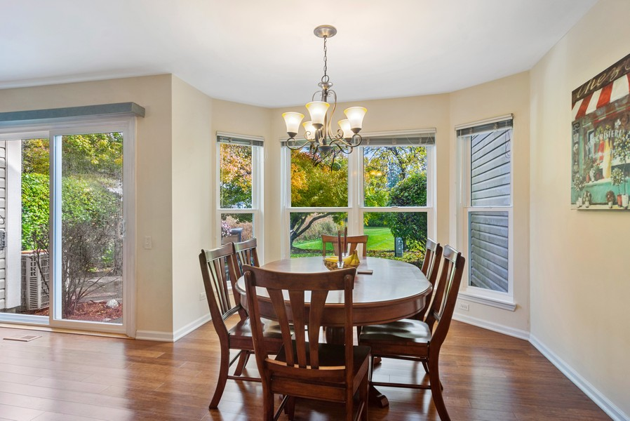 Real Estate Photography - 583 North Charter Hall Dr, Palatine, IL, 60067 - Dining Room