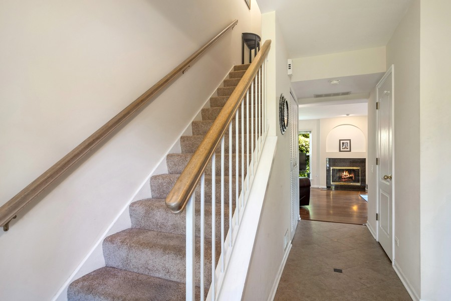 Real Estate Photography - 583 North Charter Hall Dr, Palatine, IL, 60067 - Foyer