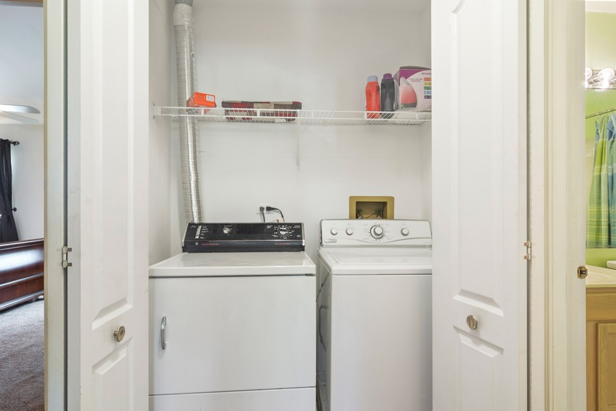Real Estate Photography - 583 North Charter Hall Dr, Palatine, IL, 60067 - Laundry Room