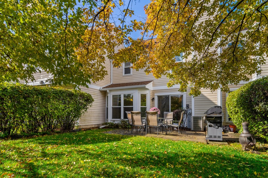 Real Estate Photography - 583 North Charter Hall Dr, Palatine, IL, 60067 - Rear View