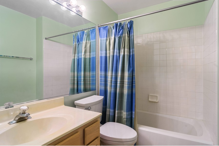 Real Estate Photography - 583 North Charter Hall Dr, Palatine, IL, 60067 - Bathroom