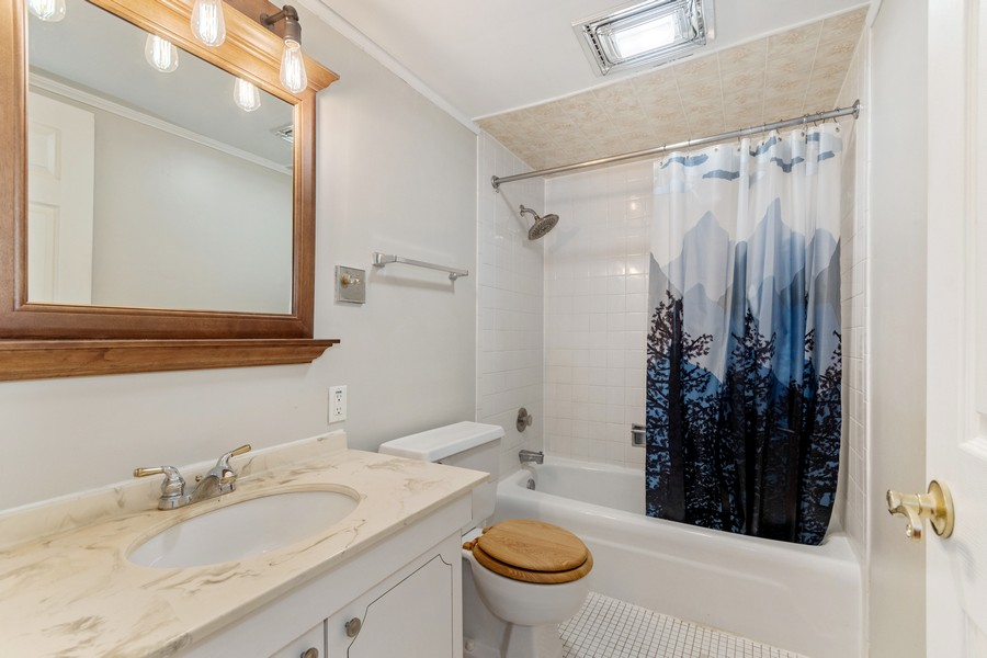 Real Estate Photography - 1041 North Mill St, 211, Naperville, IL, 60563 - Master Bathroom