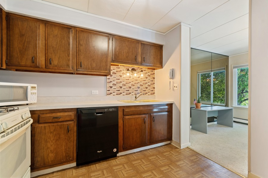 Real Estate Photography - 1041 North Mill St, 211, Naperville, IL, 60563 - Kitchen