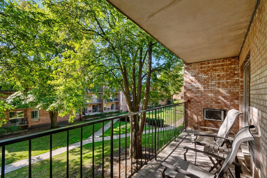 Real Estate Photography - 1041 North Mill St, 211, Naperville, IL, 60563 - Balcony