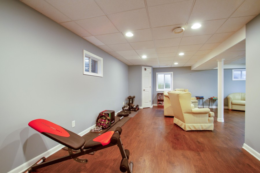 Real Estate Photography - 1677 Deerhaven Dr, Crystal Lake, IL, 60014 - Gym