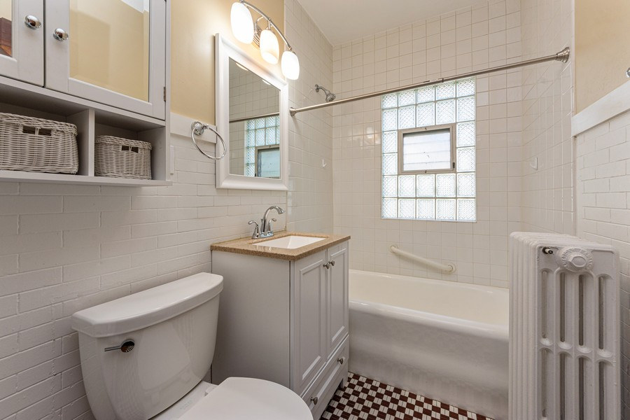 Real Estate Photography - 8 East Euclid Ave, Arlington Heights, IL, 60004 - Bathroom