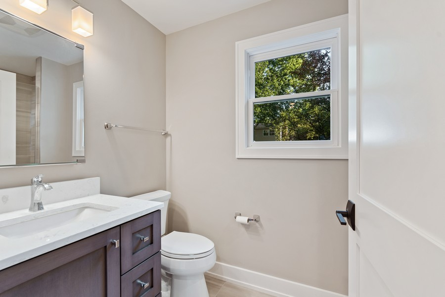 Real Estate Photography - 1470 Farington Ct, Naperville, IL, 60563 - 2nd Bathroom