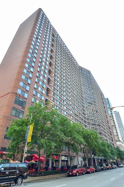 Real Estate Photography - 211 E Ohio St, Apt 809, Chicago, IL, 60611 - Front View