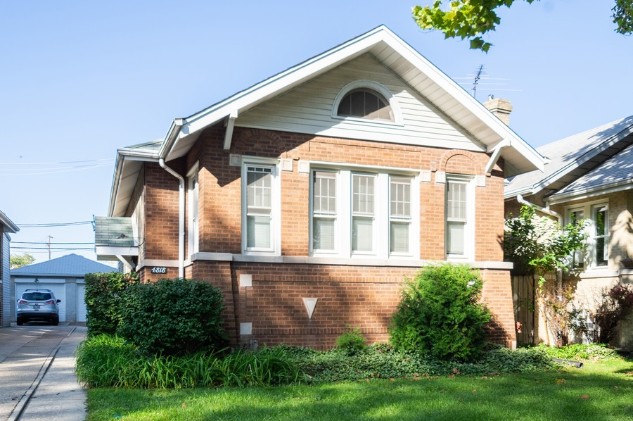 Real Estate Photography - 4818 North Harding Ave, Chicago, IL, 60625 - Front View