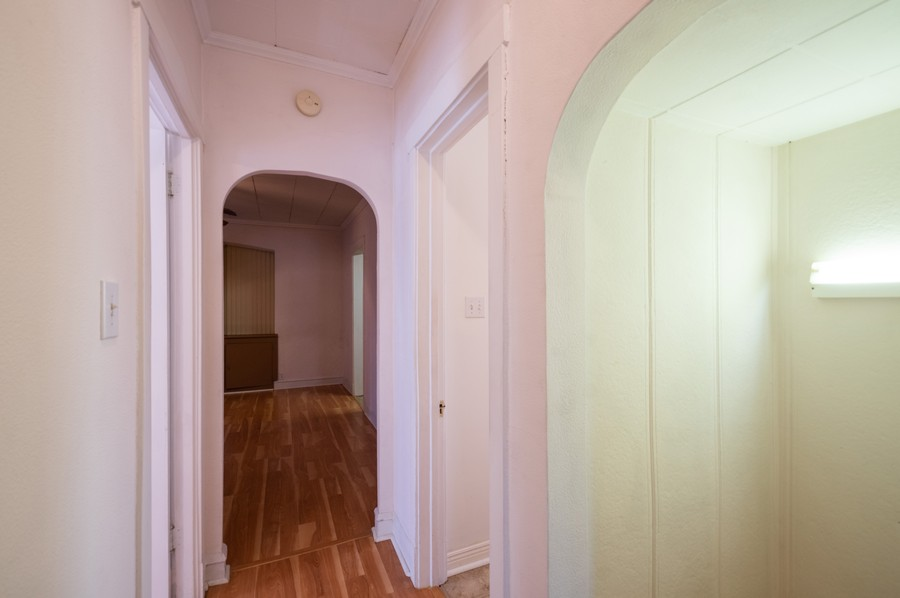 Real Estate Photography - 4818 North Harding Ave, Chicago, IL, 60625 - Hallway