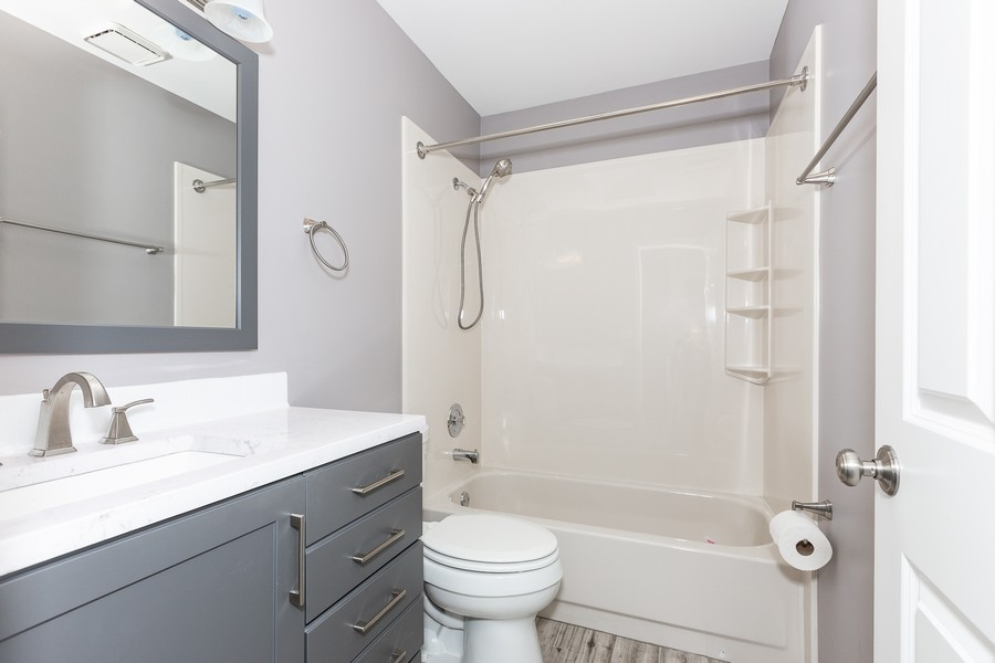 Real Estate Photography - 1301 St Croix Ave, Naperville, IL, 60564 - Bathroom