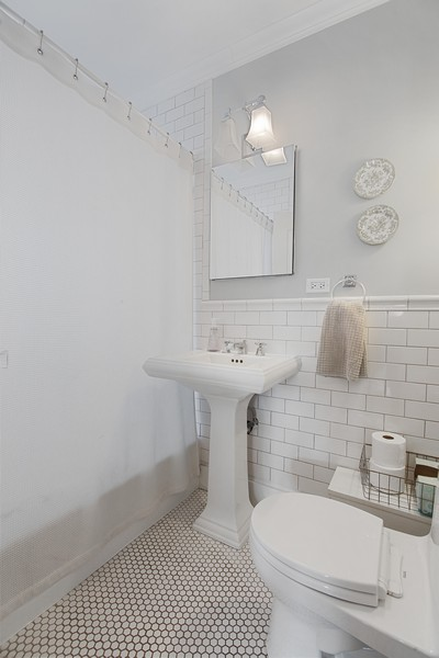 Real Estate Photography - 1514 Gregory Ave, Wilmette, IL, 60091 - Bathroom