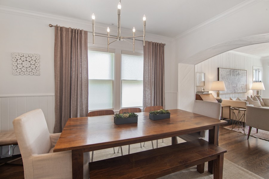 Real Estate Photography - 1514 Gregory Ave, Wilmette, IL, 60091 - Dining Room