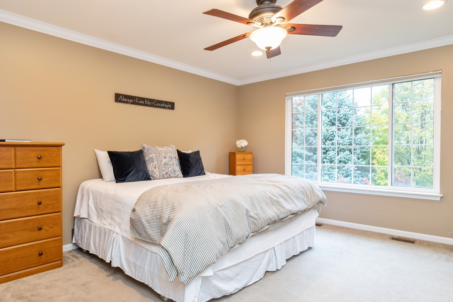 Real Estate Photography - 3357 Rosecroft, Naperville, IL, 60564 - Master Bedroom