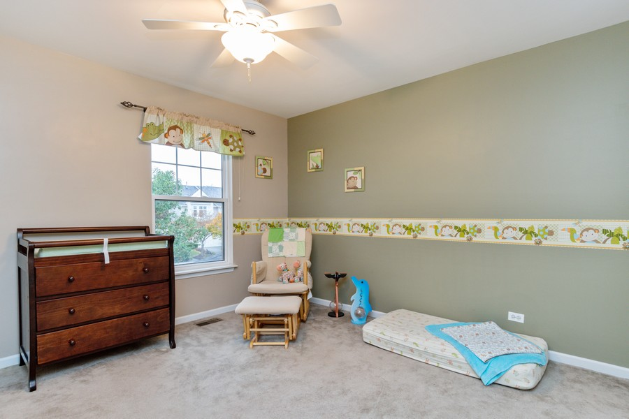 Real Estate Photography - 3357 Rosecroft, Naperville, IL, 60564 - 2nd Bedroom