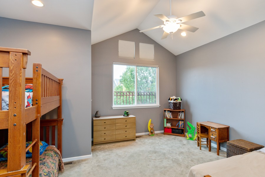 Real Estate Photography - 3357 Rosecroft, Naperville, IL, 60564 - 3rd Bedroom