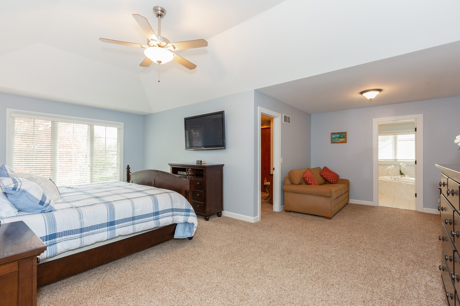 Real Estate Photography - 3443 Redwing Dr, Naperville, IL, 60564 - Master Bedroom