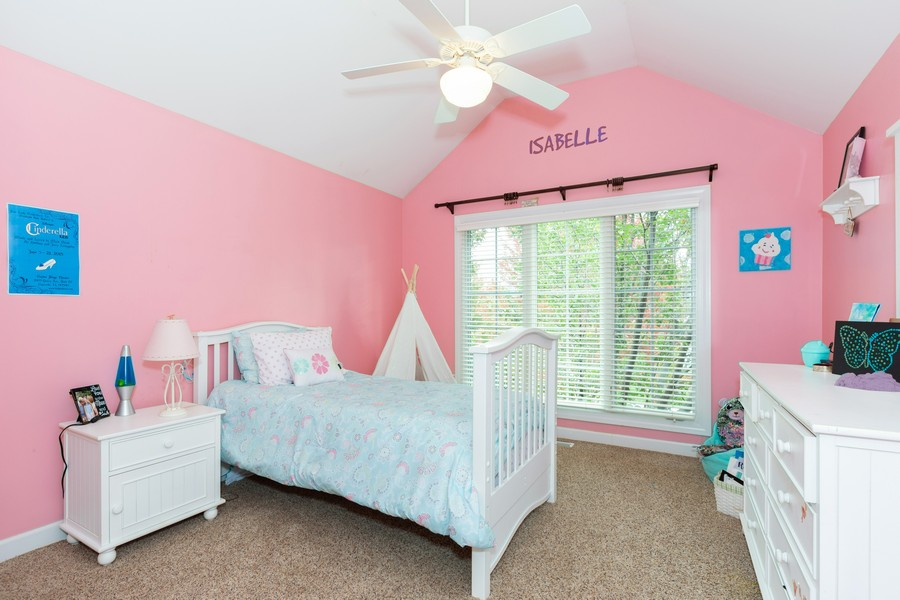 Real Estate Photography - 3443 Redwing Dr, Naperville, IL, 60564 - Bedroom