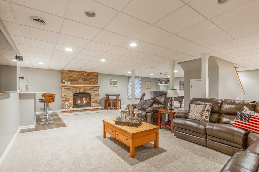 Real Estate Photography - 3443 Redwing Dr, Naperville, IL, 60564 - Basement