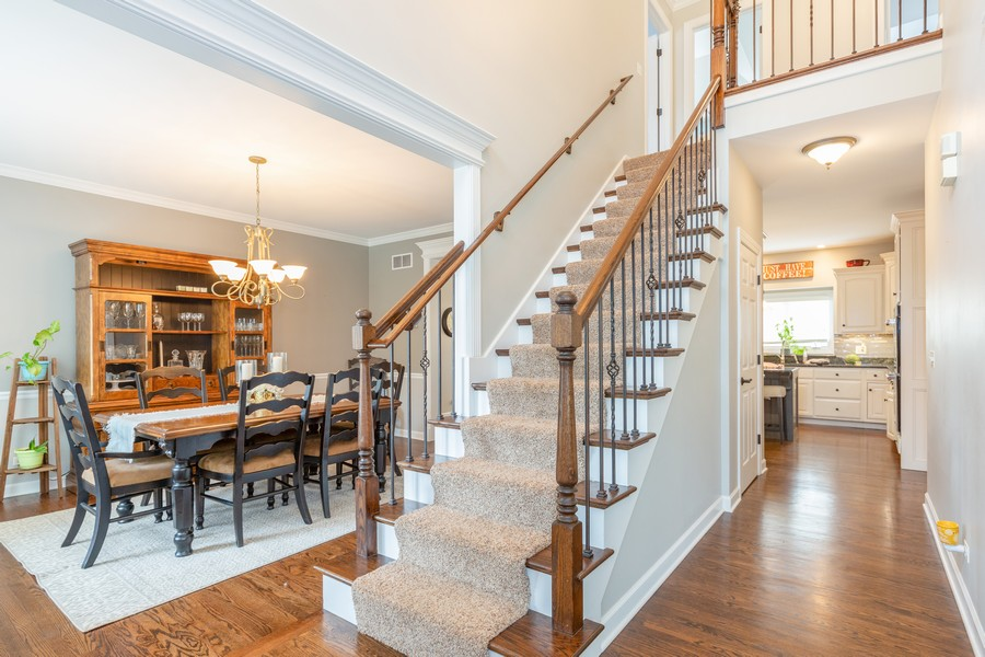 Real Estate Photography - 3443 Redwing Dr, Naperville, IL, 60564 - Foyer