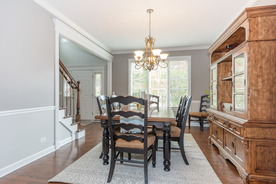 Real Estate Photography - 3443 Redwing Dr, Naperville, IL, 60564 - Dining Room