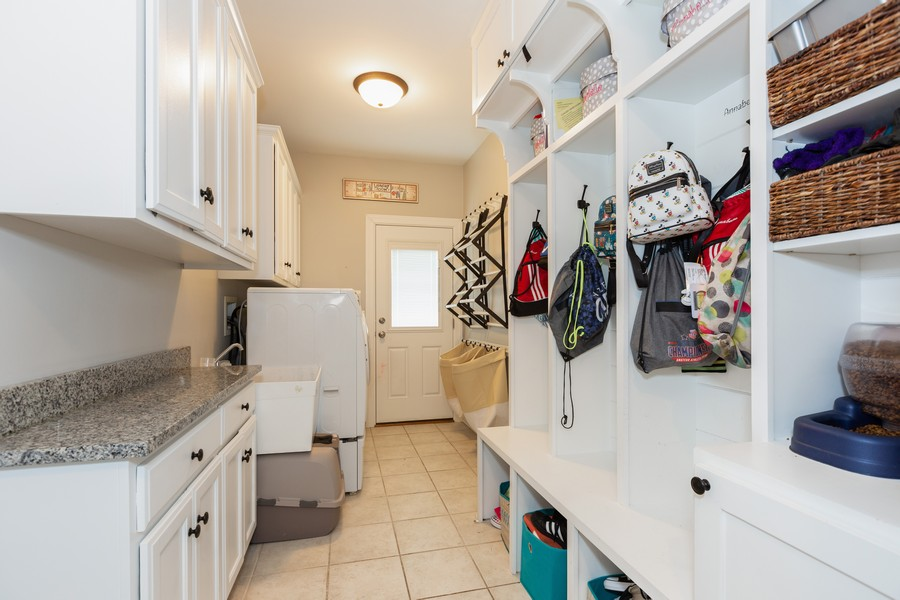 Real Estate Photography - 3443 Redwing Dr, Naperville, IL, 60564 - Laundry Room