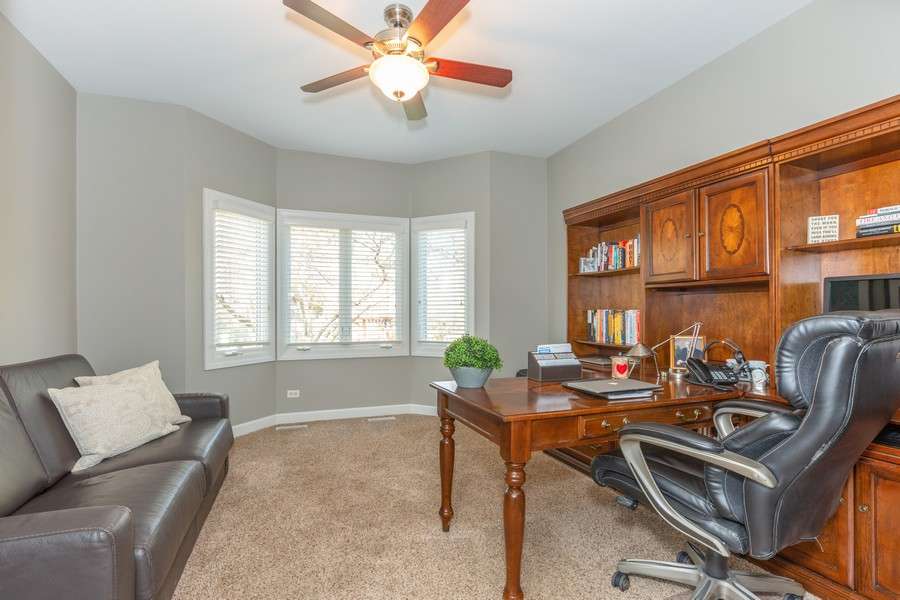 Real Estate Photography - 3443 Redwing Dr, Naperville, IL, 60564 - Office