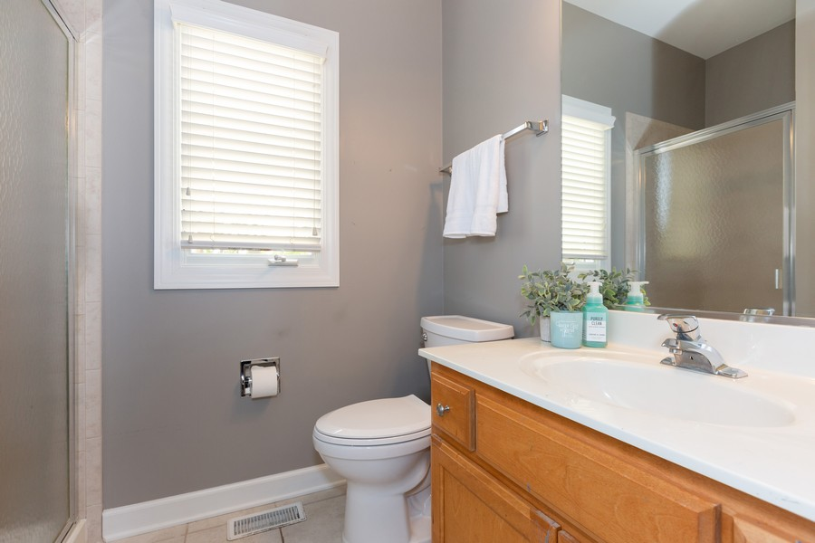 Real Estate Photography - 3443 Redwing Dr, Naperville, IL, 60564 - Bathroom