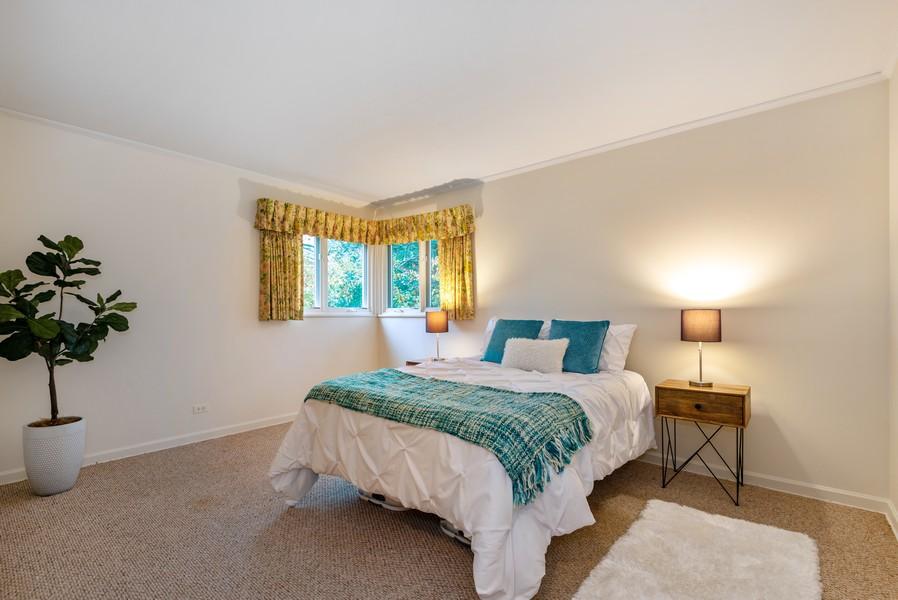 Real Estate Photography - 3515 Hillside Rd, Evanston, IL, 60201 - Bedroom