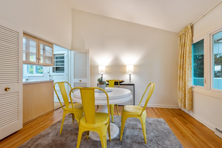 Real Estate Photography - 3515 Hillside Rd, Evanston, IL, 60201 - Dining Room