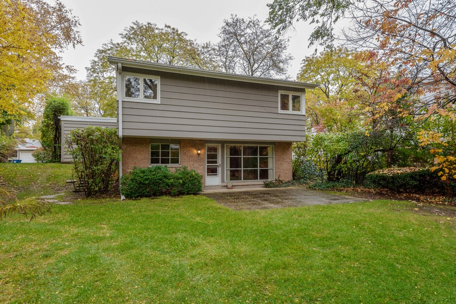 Real Estate Photography - 3515 Hillside Rd, Evanston, IL, 60201 - Rear View