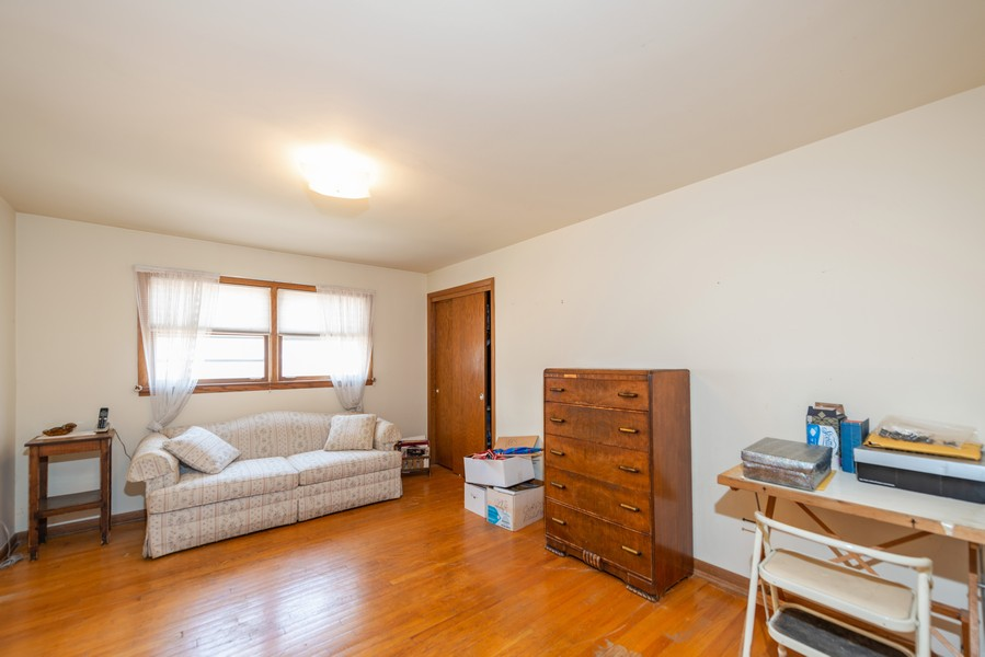 Real Estate Photography - 1905 Glenview Ave, Park Ridge, IL, 60068 - 3rd Bedroom