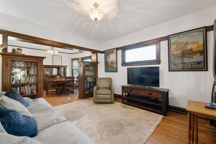 Real Estate Photography - 6442 Fairfield Ave, Berwyn, IL, 60402 - Living Room