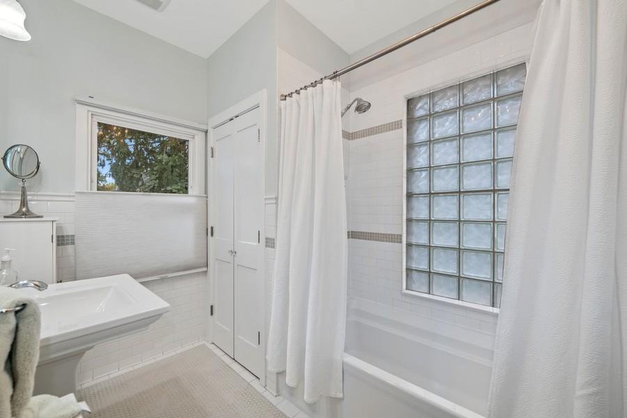 Real Estate Photography - 6442 Fairfield Ave, Berwyn, IL, 60402 - Master Bathroom