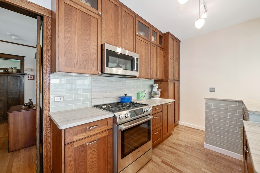 Real Estate Photography - 6442 Fairfield Ave, Berwyn, IL, 60402 - Kitchen