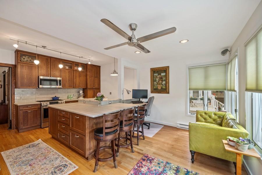 Real Estate Photography - 6442 Fairfield Ave, Berwyn, IL, 60402 - Kitchen / Breakfast Room