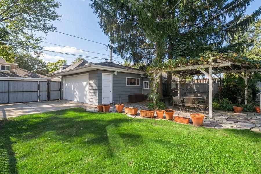 Real Estate Photography - 6442 Fairfield Ave, Berwyn, IL, 60402 - Back Yard