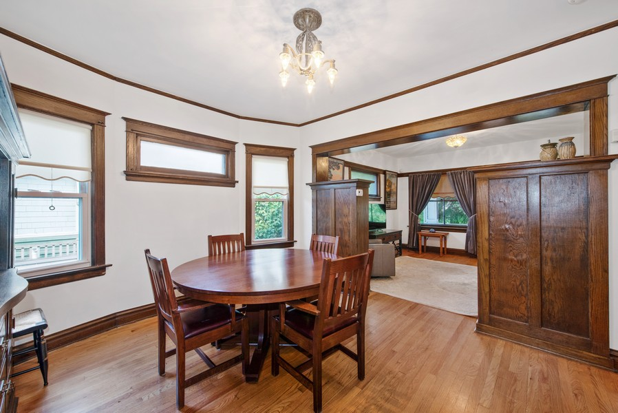 Real Estate Photography - 6442 Fairfield Ave, Berwyn, IL, 60402 - Dining Room