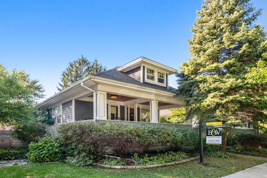 Real Estate Photography - 6442 Fairfield Ave, Berwyn, IL, 60402 - Front View