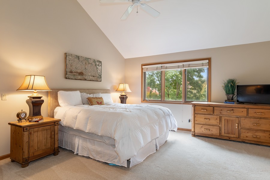 Real Estate Photography - 800 Lund Ln, Batavia, IL, 60510 - Master Bedroom