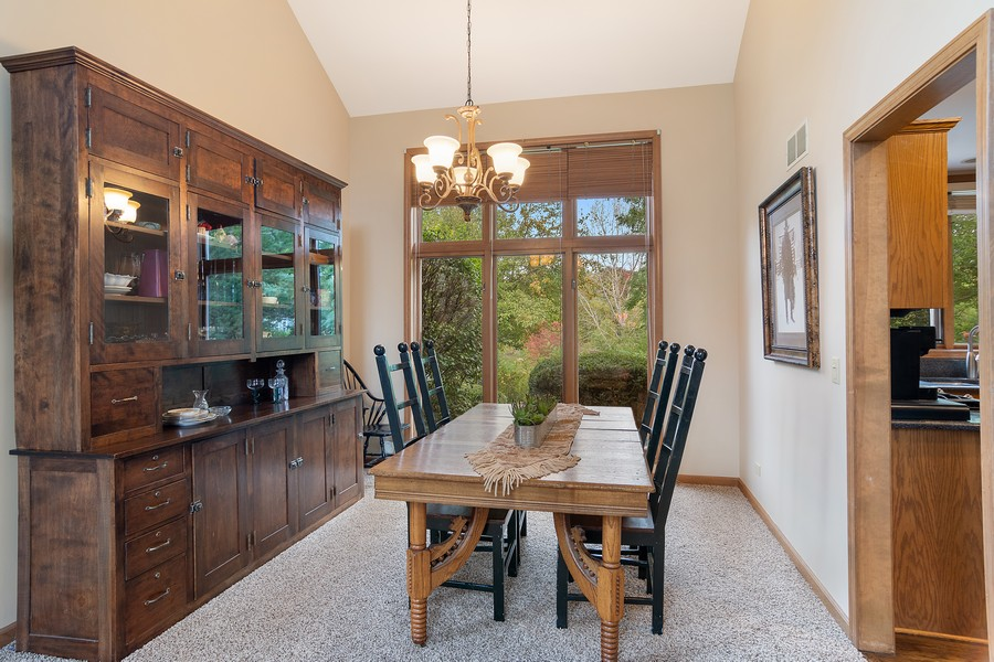Real Estate Photography - 800 Lund Ln, Batavia, IL, 60510 - Dining Room